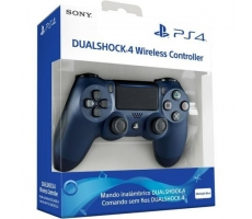 Controle Sony Wireless Ps4 Midnight Azul Noturno