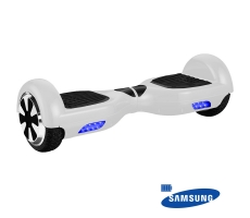 "Hoverboard Scooter Smart Balance 6.5"" Branco Bateria Samsung"
