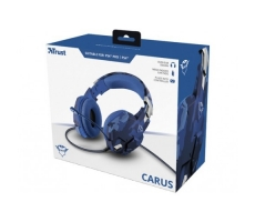 Headset Gamer Gxt 322b Carus Trust Blue